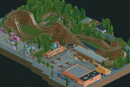 The Phoenix at Knoebels Amusement Resort